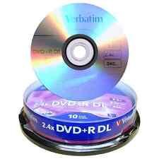 Campana 10 DVD+R DL Dual Layer 8x 240min 8,5 GB Verbatim