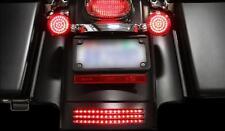 Custom Dynamics Tri-Bar LED Fender Tip Light for Harley FLHX 06-09 - Smoke Lens
