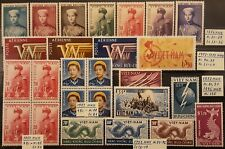 VIETNAM SOUTH 1952-1956 stamp collections in XF/VF condition MNH