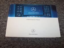 2006 Mercedes Benz ML350 ML500 M-Class Comand Navigation System Owner Manual