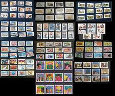 séries complètes de timbres oblitérés de 2015 : 1 euro la série!!