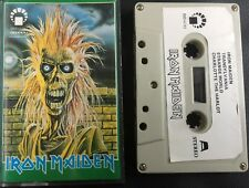 Iron Maiden / Self Titled / Cassette Album / IMD Label / Metallica / Rare / ACDC