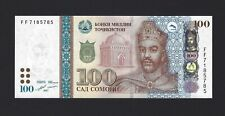 2017 TAJIKISTAN 100 Somoni, P-27b, Pack Fresh UNC, Beautiful Denomination