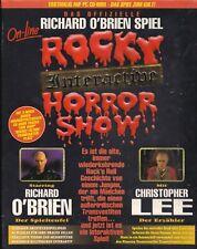 ROCKY HORROR  SHOW  PC Spiel 1999  ungeöffnet  original verschweißt RARITAET