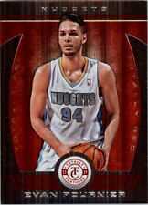 2013-14 Totally Certified Red Nuggets Basketball Card #142 Evan Fournier /99