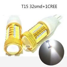Canbus LED Lamp W16W T15 4014 32SMD + CREE Car Tail Backup Reverse Light Bulb GB