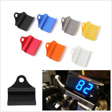 CNC Aluminum Alloy Motorcycles ATV Water Temperature Meter Mounting Holder Black