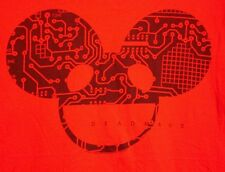 DEADMAU5 lrg T shirt house electronic dance Joel Zimmerman digital motherboard