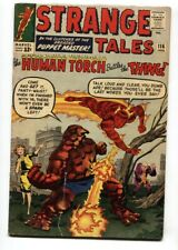 STRANGE TALES #116 1ST THING crossover 1963 Human Torch