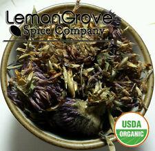 * CERTIFIED ORGANIC * 2 oz Red Clover Tops Whole (Trifolium pratense)