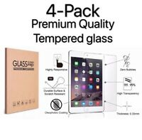 [4 Pack] Tempered GLASS Screen Protector for Apple iPad 6th Generation 2018
