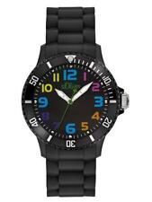S.Oliver Silicone Watch so-2427-pq Analogue Silicon Black