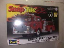 Mack Fire Pumper 1/32 plastic model kit Revell Snap Tite New and Sealed