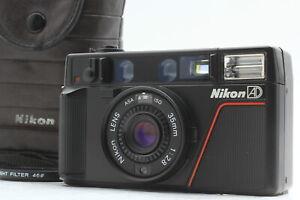 [Near MINT in CASE] Nikon L35 AD Point & Shoot 35mm Film Camera From JAPAN