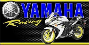 YAMAHA, KAWASAKI, SUZUKI, KTM Dirt Bike Racing Motocross Supercross Banner Sign