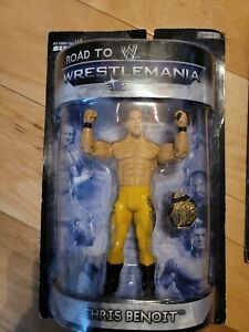 NEW 2007 JAKKS Pacific WWE Road to Wrestlemania 23 Chris Benoit Action Figure