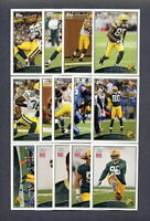 2009 Topps Green Bay Packers TEAM SET