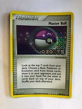 Pokemon 2005 EX Deoxys Master Ball Trainer Reverse Holo Card 88/107 - NM