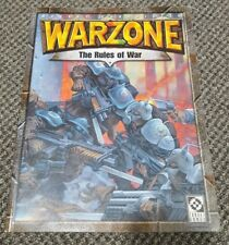 Mutant Chronicles - Warzone - The Rules of War - 2nd Edition