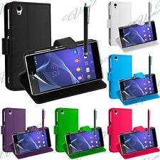 Accessoire Etui Housse Coque Portefeuille Support Video Seri Sony Xperia Z X XA