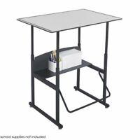 "Safco AlphaBetter 24"" x 36"" Student Desk in Gray"