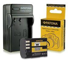 batteria + carica per pentax 645D K-01 K-2 K-3 K-5 K-7 K-R K645D d-li90 dli90