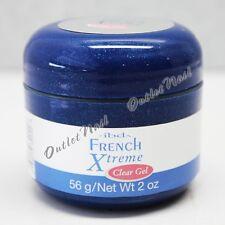 Enfermedad inflamatoria intestinal constructor francés Xtreme Claro Gel 2 Oz/56 G Nº de artículo 39022 geles de UV-barco en 24H