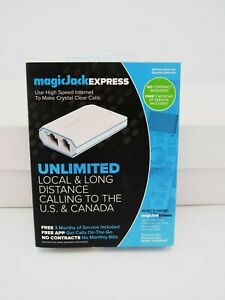 Magic Jack EXPRESS Internet Unlimited Local & Long Distance Calling
