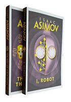 I Robot & The Rest of the Robots 2 Books by Isaac Asimov SF Series New