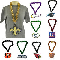 New NFL PICK YOUR TEAM Fan Chain Necklace Foam Magnet - 2 in 1
