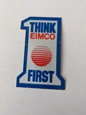 Retro Mining Sticker - Think Eimco First