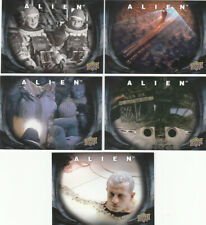2017 Alien: The Movie How It's Done Insert set (HID1-HID5)