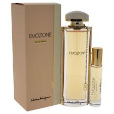 Emozione by Salvatore Ferragamo for Women - 2 Pc Gift Set 3.1oz EDP Spray & More