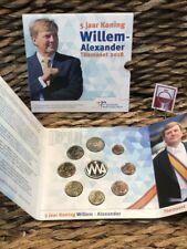 NEDERLAND 2018 - THEMASET 5 JAAR KONING WILLEM-ALEXANDER