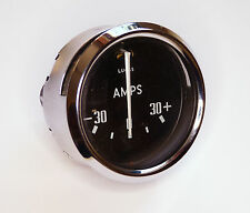 Lucas BM4 Classic Car 30-0-30 Ammeter Gauge with Domed Glass, 36174A