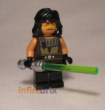 Lego Quinlan Vos from Set 7964 Republic Frigate Star Wars Jedi BRAND NEW sw333