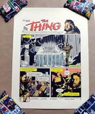 THE THING SCREEN PRINT POSTER BY MATHEW SKIFF