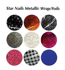 Star Nails Metallic Wrap/ Foils