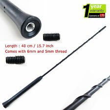 RENAULT CLIO BLACK RUBBER REPLACEMENT AM/FM AERIAL ANTENNA ROOF MAST
