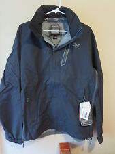 Mens New Outdoor Research Valley Jacket Sz Small Color Black