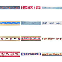 By the yard MLB SPORT Baseball Theme Ribbon Trim Scrapbooking & Hair Bow Making