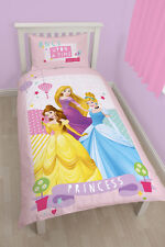 Disney Princess Princesses Enchanting Girls Bed Linen For Children 135x200 new