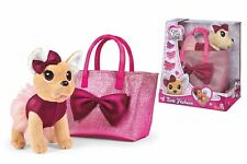 SIMBA 105893439 - ChiChi Love Bow Fashion - Chihuahua Plüschhund Kuscheltier