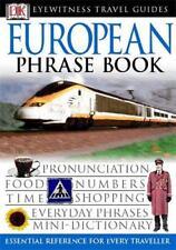 European Phrase Book (Eyewitness Travel Guides Phrase Books) by DK | Paperback B