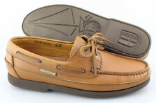 Men's MEPHISTO 'Hurrikan' Brown Leather Loafers Size US 9.5 EUR 9