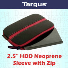Targus 2.5 Inch Portable External Hard Drive Soft Neoprene Carry Case/Sleeve