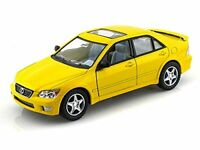 "Kinsmart Lexus IS300 Sedan 1:36 scale diecast model car Toy 5"" 5046D Yellow"