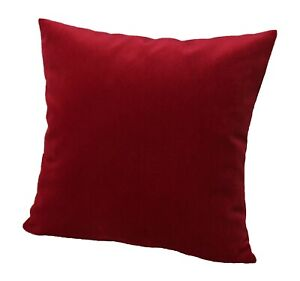 Cushion Cover 40X40 Velour Art Pillow Case Decorative IN 11 Sizes