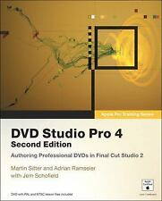 DVD Studio Pro 4, 2nd Edition (Apple Pro Training Series) by Sitter, Martin, Ra