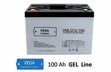 12V 100Ah Gel -  Bleigel Batterie Akku- USV Boot Wohnmobil Caravan C100
